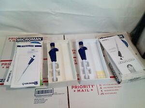 Gilson Microman Positive Displacement Pipette Mf 100 Fixed Volume 100 Ul