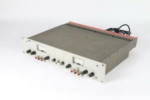 Hp Hewlett Packard 6255a Dual Dc Power Supply