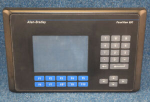 Allen Bradley 2711 b6c8 b 2711b6c8 Panelview 600 Color Dh Communication
