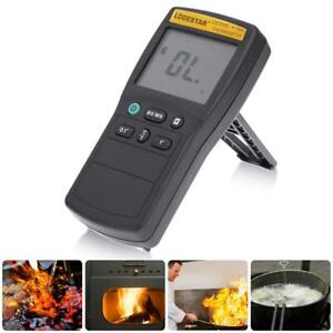 Handheld Lcd K Type Digital Thermocouple Thermometer Temperature Meter W Probe