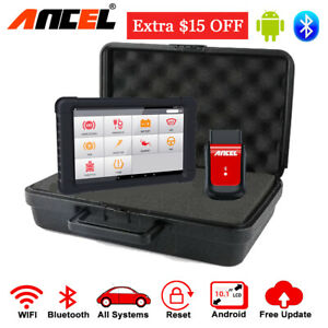 Wireless Bluetooth Obdii Full Systems Scanner Tablet Automotive Diagnostic Tools