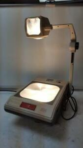 3m 2100 Ajac Overhead Projector With Two Bulbs
