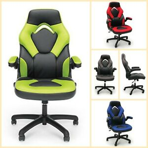 Racing Style Gaming Chair Computer High Back Ergonomic Executive Office Leather