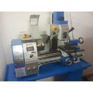Weiss Wmp250v 11 X30 High Precision Variable Speed Combo Lathe new
