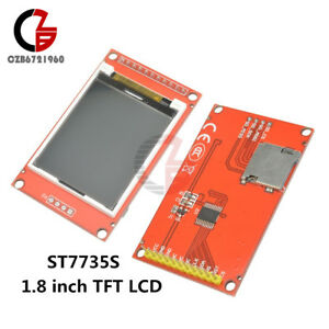 1 8 Inch Tft Lcd Adapter Module Spi I o St7735s Sd 128x160 For Arduino 51 avr
