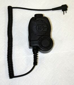 Msa 7 1714 1 Clearcommand Ptt Lapel Mic Intrinsically Safe Motorola Radius Gtx