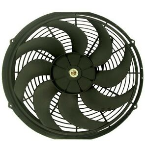 14 Reversible Electric 12v Universal Auto Cooling Radiator Fan