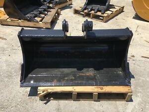New 36 Takeuchi Tb025 Heavy Duty Ditch Cleaning Bucket W Coupler Pins