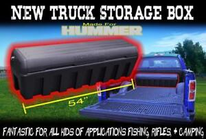 New Pick Up Storage Box Cargo Tool Storage Box Multiple Applications Custom Lock
