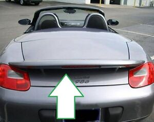 Painted For Porsche Boxster Boxster S Lighted Rear Spoiler Wing For 2005 2011