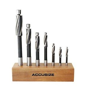 Accusizetools H s s Solid Cap Screw Counterbore Set 3 Flute Straight Sha