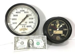 Steampunk Gauges Lbs Force Mastergauge And Jacobson