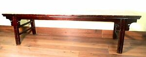 Antique Chinese Ming Scholar Daybed 5278 Circa 1800 1849