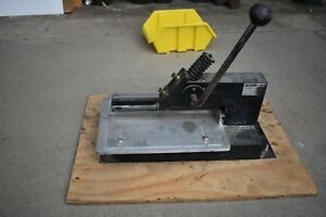 Jackson Model G 12 Stamp Die Cutter
