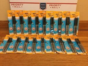 Bic Mark It Permanent Markers Lot Of 18