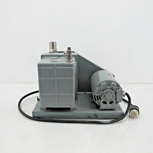 Welch Duo Seal Rotary Vane Vacuum Pump Model 1376 Three Phase