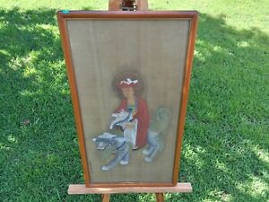 A Important Framed Chinese Painting On Silk Artist Signed Rare