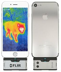 Flir One Ios Thermal Imaging Camera For Iphones And Free Powerbank Included