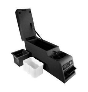 Rugged Ridge 13102 15 Black Denim Ultimate Locking Center Console For Jeep Cj Yj