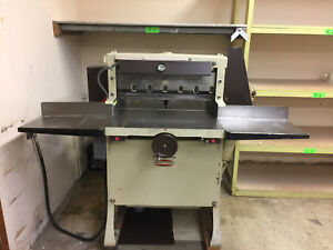 Paper Cutter challenge 265 Hbe 26 1 2 Hydraulic Operated