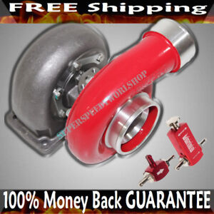 Red Gt45 Turbo 600 hp T4 t66 3 5 V band 1 05 A r 92 Trim boost Controller
