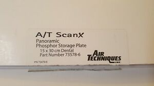 A T Scan X Panoramic Phosphor Storage Plate 15 X 30 Cm Air Techniques Dental