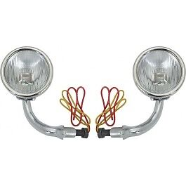 1930 1931 Ford Model A Cowl Light Assembly Pair Left And Right W Turn Signal