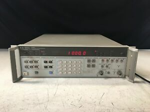 Hp Hewlett Packard 3325b Synthesizer function Generator With Rackmount