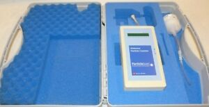 3 Micron Particlescan Airborne Particle Counter Swiss Made