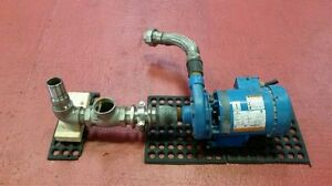 Goulds Centrifugal Pump 3642 With Emerson 208 230 460v 3ph Tefc