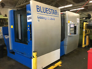 Giddins And Lewis Bluestar 5 Horizontal Machining Center