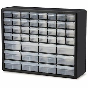 Wall Mounted Plastic Storage Bins Large Small Parts Organizer Drawers Brandnew