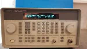 Hp Agilent 8648c Synthesized Rf Signal Generator 9 Khz To 3200 Mhz
