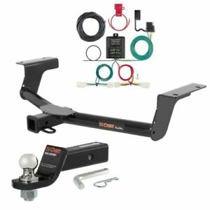 Curt Class 3 Trailer Hitch Loaded Ball Mount 1 7 8 Ball For Rav4 Xle Le Se