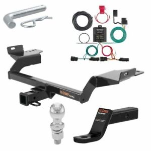 Curt Class 3 Trailer Hitch Tow Package 2 Ball For Ford Escape S se sel titanium