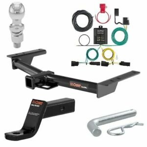 Curt Class 3 Trailer Hitch Tow Package 2 Ball For Ford Transit 150 transit 250