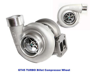 Emusa Gt45 Billet Wheel Turbo 600hp Boost Universal T4 t66 3 5 V band 1 15 A r