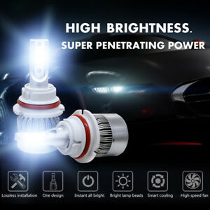 1855w 278250lm 9004 Hb1 Car Led Headlight Kit Hi low Beam White 6000k High Power
