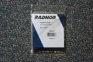 10 Pcs Radnor Welding Lens 64005028 Glass Shade 10 4 1 2 X 5 1 4