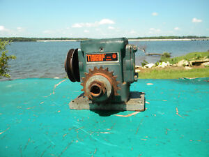 Wr150m Tigear Reliance Electric Speed Reducer Ratio 30 Hp 78 Input 1750 Rpm