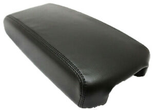Fits 13 18 Nissan Altima Black Synthetic Leather Center Console Armrest Cover