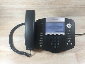 Lot Of 10 Soundpoint Ip 550 Ip Poe Voip Business Phone no Power Supply 4 Lines