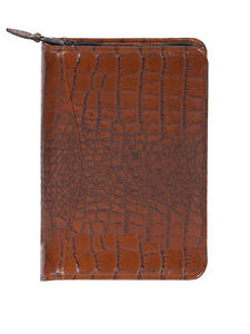 Scully Leather Zip Weekly Planner Dark Brown 5045z 0 42 f