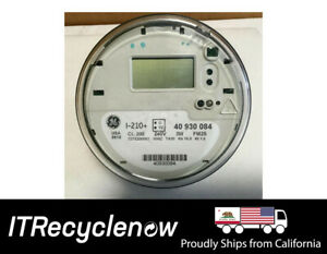 Ge I 210 Smart Watthour Meter Cl200 240v 3w Fm2s general Electric