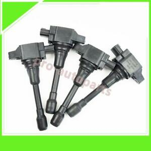 4x Ignition Coil 22448 ja00c Fit Nissan Altima Cube Rogue Sentra Versa Infiniti