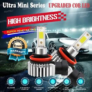 Cree Led Headlight Kit H8 H9 H11 1855w 278250lm 6000k Low Beam Fog Lights Bulbs