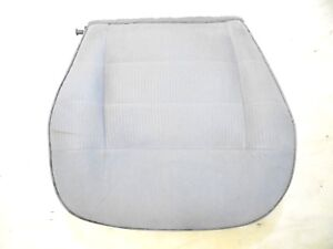 1987 1993 Mustang Front Bucket Seat Bottom Lower Gray Cloth Driver