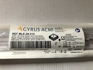 Gyrus Acmi Right Angle Cutting Loop Electrode 12