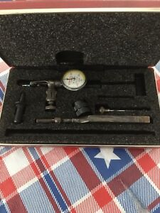 Vintage Starrett Last Word No 711 Dial Indicator In Original Box