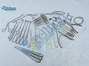Basic Craniotomy Set Of 40 Pcs Surgical Orthopedic Instruments Excellent Quality